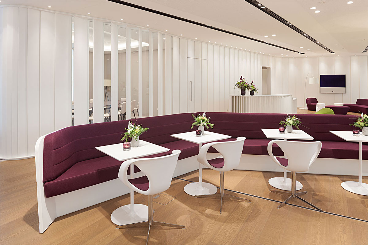 Innenarchitektur Messe tina aß innenarchitektur münchen bavaria lounge messe münchen