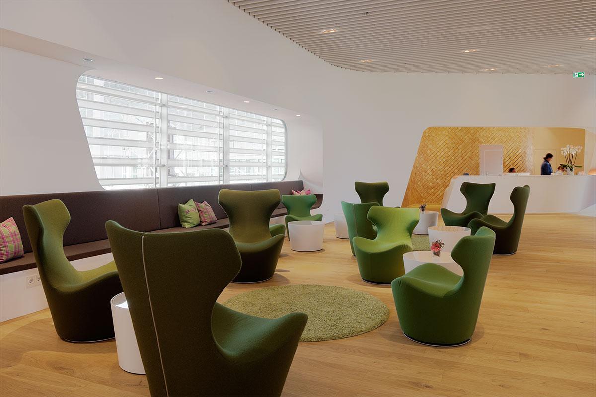 Tina Aßman | Innenarchitektur | München | VIP Wing Lounge ...